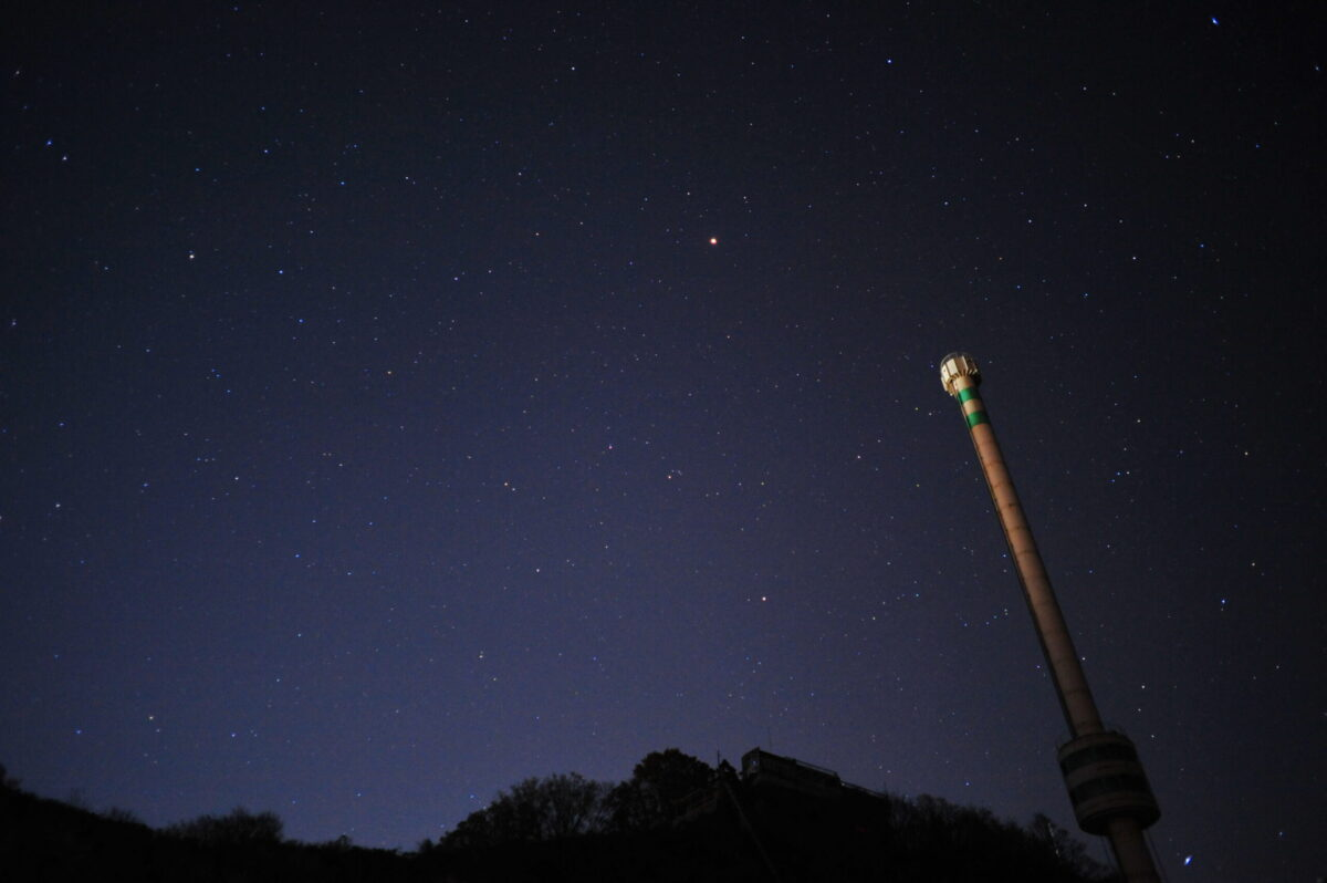 Nikon オールドレンズ 広角 星空撮影
